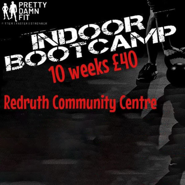Pretty Damn Fit Indoor Boot Camp
